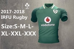 Wholesale Irish Rugby Shirt - 2017 Leinster rugby jerseys 16 17 Ireland league Leinster away Irish rugby shirts top quality jerseys Size S-3XL