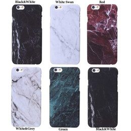 Wholesale Glossy Print - Fashion Printed Soft Marble Granite Texture Glossy Case Cover for iPhone 7 7plus Samsung S8  S8plus With the Opp Package