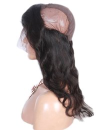 Wholesale Cambodian Baby Hair - 360 Frontal With Cap Brazilian Body Wave Human Hair Peruvian Malaysian Indian Cambodian Lace frontal With Baby Hair