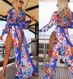 Wholesale Dress For Fats - Sexy womens swimsuits beach cover up dresses for women plus size swimwear fat swimming wear women wholesale irregular bathing suit