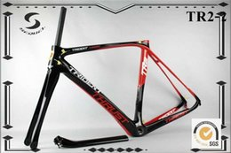 Wholesale Di2 Road Bike - Thrust carbon road bike frame T800 DI2 carbon bike frame BSA BB30 durable Outdoor sport bicycle accessories