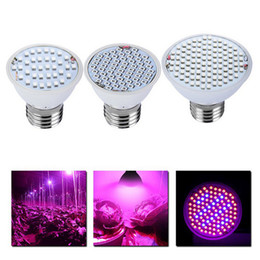 Wholesale Led Bulbs Plant Growth - Wholesale- Led Plant Lights Flowers and Vegetables Nursery Lights Efficient LED Plant Growth Lights LED Bulb Lamps for Flowering Plant