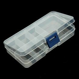 Argentina XINYAO 7 Ranuras (Ajustable) Caja de Almacenamiento de Caja de Joyería de Plástico Artesanal Organizador de Joyas Beads Diy Fabricación de Joyas Encontrar F2426B Suministro