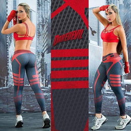 Wholesale Yellow Yoga Pants - 2018 Women Yoga Sports Pants Elastic Exercise Tights Female Sports Elastic Fitness Running Trousers Slim Leggings Free Shipping