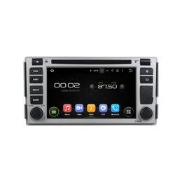 Wholesale Hyundai Navi - 6.2'' Quad Core Android 5.1 Car DVD Multimedia GPS Navi Player For Hyundai SANTA FE 2005