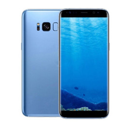 Wholesale Smart Phone Dual Unlocked - Goophone S8 plus 6.2 inch Android 7.0 Real Fingerprint Touch ID 16GB Quad Core Smart phone show Octa Core 64GB 4G LTE Unlock Cell Phones
