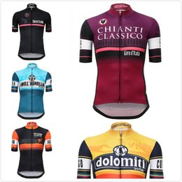 Wholesale Cycling Shirts Wholesale - Tour De Italy D'ITALIA 2016 Cycling Jersey short sleeve cycling shirt Bike bicycle clothes Clothing Ropa Ciclismo Breathable