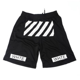 Wholesale Hight Waist - OW twill printed leisure sports men and women basketball shorts Pyrex hight quality free shipping