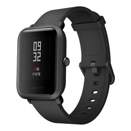 Wholesale Gps Tracker Apple - Original English Version Xiaomi Huami Amazfit Bip Lite Sports Smart Watch Bluetooth 4.0 GPS Gloness in stock