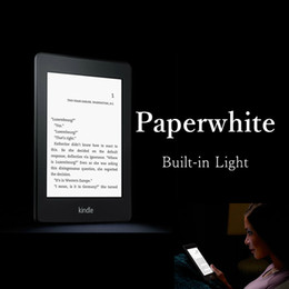 Wholesale Ebook Kindle Cover - Wholesale- Hot sale! kindle paperwhite one built-in light wifi e book reader ebook ink touch e ink book backlit 2GB cover gift