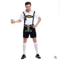 Wholesale United States Uniforms - Oktoberfest in Munich, Germany, male clothing German national clothing drag clothing exports Europe and the United States uniform male