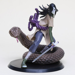 Wholesale Doll Scale - 15cm Naruto Shippuden Orochimaru Action Figure 1 8 scale painted figure Orochimaru Doll PVC figure Toy Brinquedos