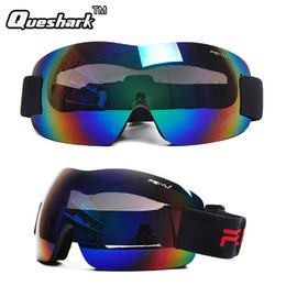 Wholesale Ski Kids Glasses - Wholesale- Professional Kids Men Women Ski Glasses Snowboarding Goggles Anti-fog Gafas Motocross Skiing Eyewear Snow Skate Google