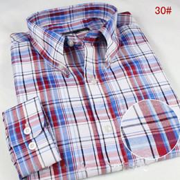 Wholesale Striped Collar Shirt Men - Top Quality 2016 new mens casual long Sleeve Shirts Men Rock Shirt Men Slim Fit Male 100% Cotton shirt