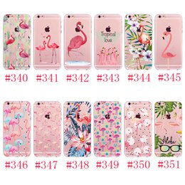 Wholesale Hand Paint Iphone Case - For iphone8 7 7plus 6 6S plus SE hand-painted case Luxury ultra thin Plating Crystal Clear TPU Silicone Case Cell Phone Cases