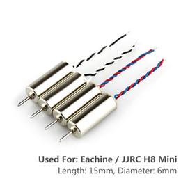 Wholesale Engine Spare Parts - 4pcs Motors For Eachine   JJRC H8 Mini Rc Quadcopter Spare Parts Motor 2pcs CW Motor And 2pcs CCW Motor Drones Engines