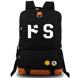 Wholesale Men S Canvas Backpacks - S backpack Sadism character day pack Torture people school bag Anime rucksack Sport schoolbag Outdoor daypack