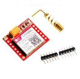 Wholesale Gsm Serial - Free Shipping 1 PCS Smallest SIM800L GPRS GSM Module MicroSIM Card Core BOard Quad-band TTL Serial Port Original In Stock