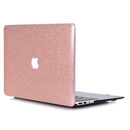 Wholesale Ipad Hard Case Keyboard - Bling Crystal Smooth Ultra-Slim Light Weight PC Hard Case For MacBook air Pro Retina Without Keyboard Cover