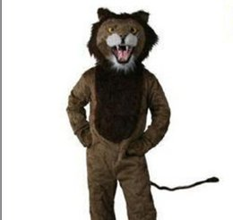 Wholesale Lion Mascots For Sale - Customized Lion mascot costume adult size character fancy suits for sale
