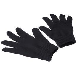 guantes anti-corte Rebajas Envío gratis al por mayor 1 par de corte de malla de metal anti-corte transpirable guantes nuevos guantes de la llegada