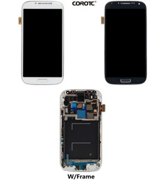 Wholesale Galaxy W Touch - LCD Digitizer Touch Assembly W Frame and Repair Tool kits for Samsung Galaxy S4 i9500 i9505 i337 i545