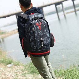 Wholesale Bow Canvas Backpack - 2017 new wholesale kobe Backpack Waterproof Outdoor Trekking Tactical Camping Military Sports Rucksacks Backpacks Classic Bag Multi Color