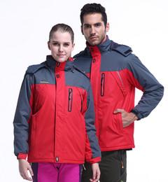 Wholesale Man Jacket Lining - Man's fleece lined Jacket Weatherproof Outerwear Winter Coats Male Windproof Plus Size M-9XL