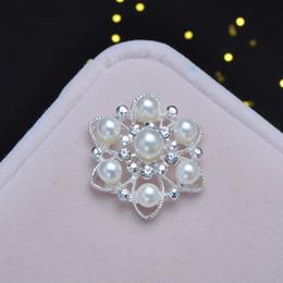 (L0324) livraison gratuite en gros 10pcs embellissement strass, dos plat, diamètre 26mm, perle ivoire perle ? partir de fabricateur