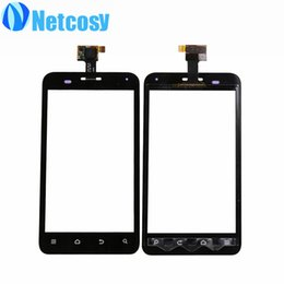 Wholesale Replacement Touch Screen Panel Zte - Wholesale- For ZTE Blade C V807 touch panel high quality Touch Screen Digitizer Glass Sensor Panel Lens Replacement For ZTE Blade C V807
