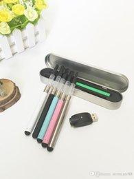 Wholesale E Cigarette Battry - Mini CE3 starter kits bud touch vape pen e cigarettes vaporizer 510 battry vape mod oil bud tank CE3 atomizer vaporizer vape