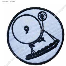 "Wholesale Numbers Vests - THE PRISONER TV Series Patrick McGoohan ""Number 6"" Embroidered Village Patch Biker Jacket Vest Wholesale Free Shipping"