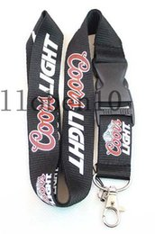 Wholesale drinking charms - hot! new 10pcs coors light drinks lanyard strap detachable Keychain badge holder MP3 charm DS Lite 44
