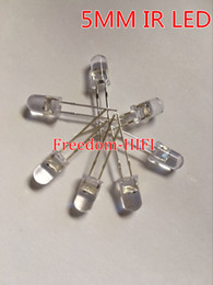Wholesale 5mm High Power Led - Wholesale- Wholesale 5pcs lot 5mm IR Infrared LED 940nm Lamp Transmitting Tube Emitting Diode High Power