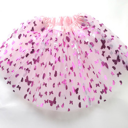 Wholesale Children Ballet Dance - New Girls ballet tutu skirt baby tutu skirt princess birthday tutu pettiskirt dance tutus for children