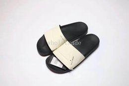 Wholesale Pvc Beach Slippers - Free Shipping Raf Simons Slides Mens Womens Raf Simons Slippers for sale Size 36 to 44 Come With Box