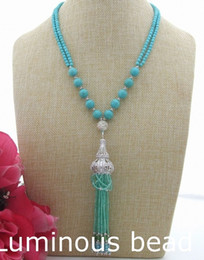 """Wholesale 4mm Green Jade - FC032111 20"""" Turquoise Jade CZ Rhinestone Necklace FC071408 18"""" 7 Strands 4mm Faceted Agate FC080202 20"""" 6 Strands FC072201 40'' White Pearl"""