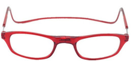 (12 unids / lote) Nueva moda magnética gafas de lectura Plástico plegable gafas de lectura muchos colores aceptan orden mezclada desde fabricantes