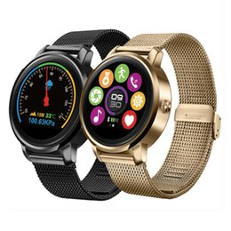 Wholesale F1 Android - F1 Bluetooth Heart Rate Monitor Smart Watch 1.22 Inch HD IPS Screen Resolution 240 * 240 Smartwatch Phone for IOS Android Phone