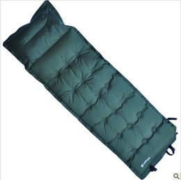 Wholesale Inflatable Tent Clear - Wholesale- 190*58*3cm Outdoor Oxford Tent Inflatable Mattress Outdoor Camping Mat Picnic Blanket Waterproof Beach Mat Air Mattress
