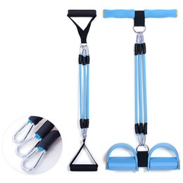 Wholesale Resistance Fitness Equipment - Resistance Bands with Handles,Premium Exercise Bands,Fitness Equipment Great for Situps Stretching and Chest Expander,Improving Mobility