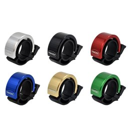 Wholesale Loud Horns - Mini Aluminum Alloy Bike Handlebar Bicycle Bell Loud Road Bike Handlebar Ring Bells Cycling Alarm Horn Sound Accessories