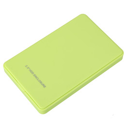 Wholesale Hd Sata Ide - Wholesale- NI5L High Quality USB 2.0 2.5 Inch IDE HD Hard Disk Drive HDD External Case Enclosure Box For Mac OS Notebook Laptop PC