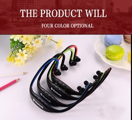 Wholesale Electronic Ear - Bluetooth Wireless Earphone Headphones Neckband Sport headset for apple iphone 7 6 xiaomi consumer electronics LENFAI
