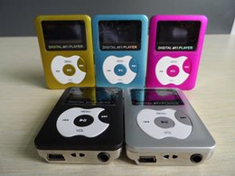 Wholesale Mp3 Player Dropshipping - Wholesale- Free shipping!!! Dropshipping! New arrrived Hotsale high quality MP3 Player With Screen support TF card up to 32GB