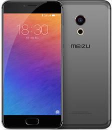Wholesale Mp Touch Screen Digital Camera - Unlocked Original Meizu Pro 6 Mobile Phone 4GB RAM 32GB 64GB ROM MTK Helio X25 Deca Core Android 5.2inch FHD IPS 21.16 MP Camera Cell Phone