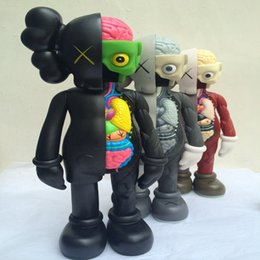 Wholesale Kaws Doll - Free shipping Fake KAWS Dissected Companion kaws dissected companion 16 keeper the trend of the doll with retail box