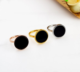 Wholesale Stainless Steel Infinity Ring - On Sale Now Top Qulaity 316L Titanium Steel Ring Jewelry Special Ring with Black in 6mm and 8mm and 14mm Ring for infinity for women Styles