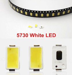 Wholesale White Super Bright Diode - Wholesale- 100 pcs SMD5730 Ultra Bright 0.5W LED 5630 SMD 5730 Diode White 6000k 6500k Super Bright Chip SMD5630 5730SMD SMT Emitting Diode