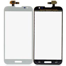 Wholesale Lg Optimus New - Wholesale- White New Touch Screen Digitizer Lens Glass For LG Optimus G Pro E980 E985 F240 P0.16